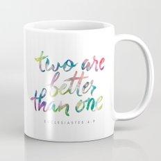 Ecclesiastes 4:9 Mug