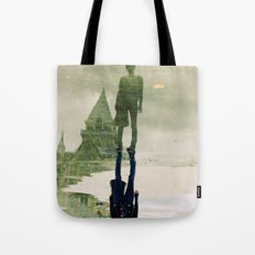 the fountain. Tote Bag