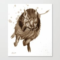 Don't Mess With Me : Cha… Canvas Print