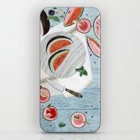 The Watermelon Season iPhone & iPod Skin