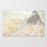 Fluid Canvas Print