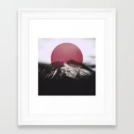 Framed Art Print - Red - SUBLIMENATION