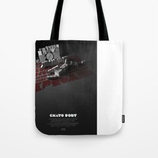 Chato Font poster Tote Bag