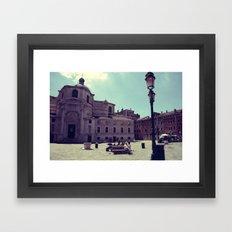Lazy Venice Framed Art Print