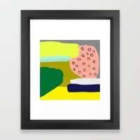 Go For It Framed Art Print