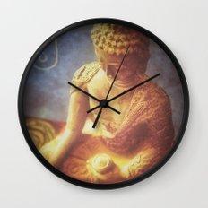 Buddha Wall Clock
