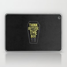 think outside the box, while you still can Laptop & iPad Skin