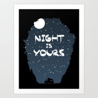 Night Is Yours Art Print