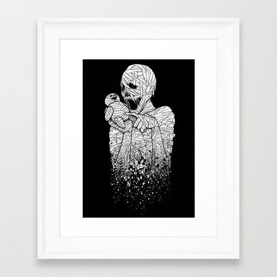 MUMMY's DUMMY Framed Art Print