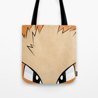 Arcanine - Pokemon 1st Generation Tote Bag