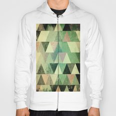 Triangle vintage green based1 Hoody