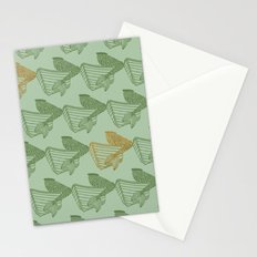 shimmering mermaid Stationery Cards