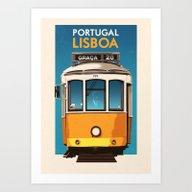 Portugal - Lisbon Art Print