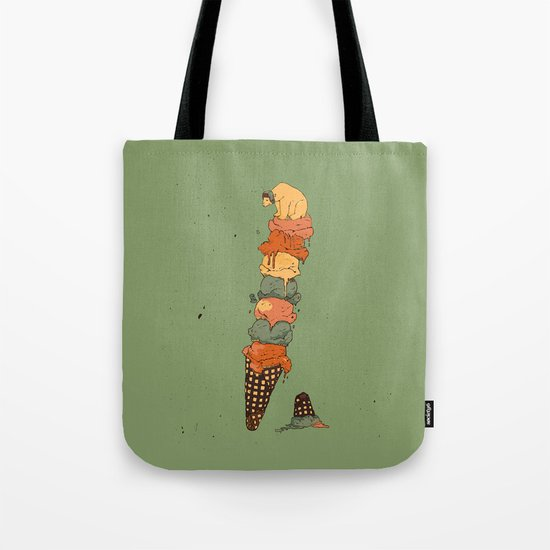 The Arctic Ice Cream Tote Bag