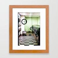 Lav'O'Matic Framed Art Print
