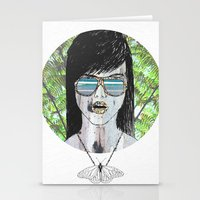 Tropical Zombie  Stationery Cards