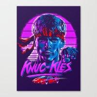 Knuc kles Canvas Print