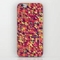 Triangle Pattern iPhone & iPod Skin