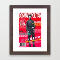 COSMARXPOLITAN, Issue 15 Framed Art Print