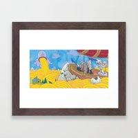 Chasing The Godhead Framed Art Print