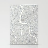 City Map London Watercol… Stationery Cards