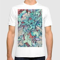 Manic Episode Mens Fitted Tee White SMALL