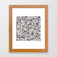 C.C. Iv Vi Framed Art Print