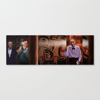 Interior The Great Northern Hotel Canvas Print