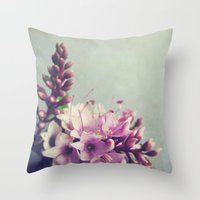 Floral Variations No. 5 Throw Pillow