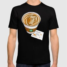 Trumpkin Spice Latte Mens Fitted Tee SMALL Black