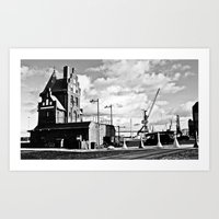 Hanseatic. The House Of … Art Print