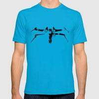 X-wing Mens Fitted Tee Teal SMALL