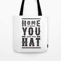 Home Is Where You Hang Y… Tote Bag
