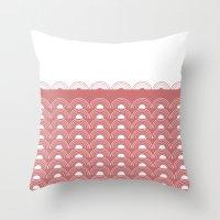Watermelon Sunset Throw Pillow
