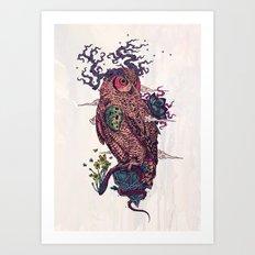 Regrowth Art Print