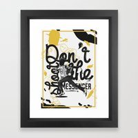 Just Don't - II Framed Art Print