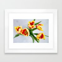 Spring is here Framed Art Print