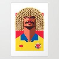 CV10 | Los Cafeteros Art Print