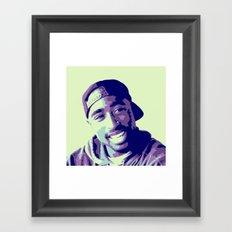 Tupac Framed Art Print