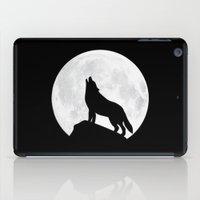 Howling Wolf - Moon iPad Case