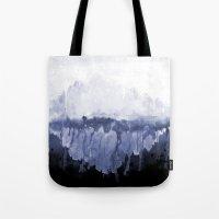 Paint 5 abstract water ocean arctic iceberg nature ocean sea abstract art drip waterfall minimal  Tote Bag