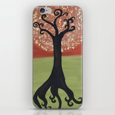 Dandelion Tree Print iPhone & iPod Skin