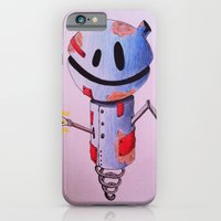robot iPhone & iPod Cases featuring Robot by Ciotti