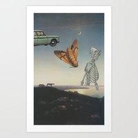 And I Feel Like Everythi… Art Print