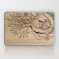 Tangle on wood Laptop & iPad Skin