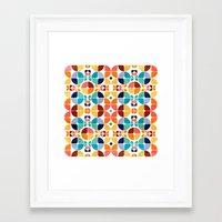 2015 Pattern Collection: Spring II Framed Art Print