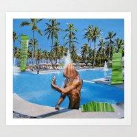 Surreala Alpina 15 Art Print