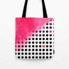 Bold Pink Polka Dots Tote Bag