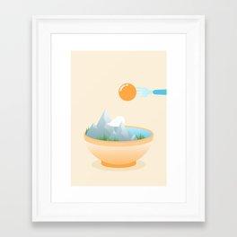 Framed Art Print - Eat the World - Moremo