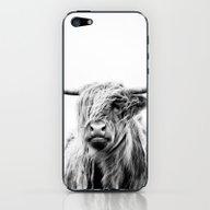 Portrait Of A Highland C… iPhone & iPod Skin